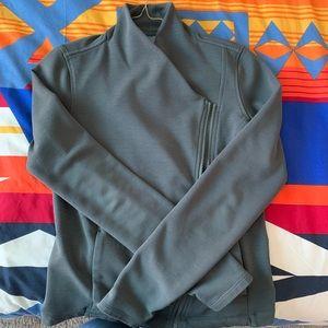 Fleece lined casual zip up